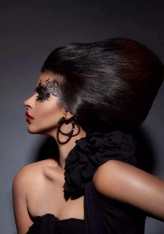 DARK GLAMOUR by Klick Fashion http://klickfashion.com/trend-report/dark-glamour Photographer: Felix Calis/ Model: Shilpa Tripathi /Hair&Make up: Brendon de Gee/ Image Retoucher: Mohammed Hazarudin — with Shilpa Tripathi.