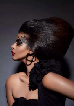 DARK GLAMOUR by Klick Fashion http://klickfashion.com/trend-report/dark-glamour Photographer: Felix Calis/ Model: Shilpa Tripathi /Hair&Make up: Brendon de Gee/ Image Retoucher: Mohammed Hazarudin — with Shilpa Tripathi.