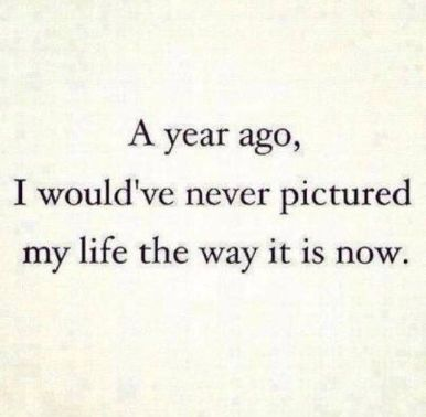 The addition of 365 days = a year... change is a culmination that our perception has to catch up to