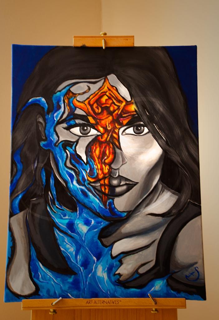 Self Portrait By Shilpa Tripathi