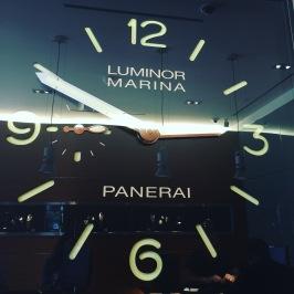 Panerai Life Size Clock Beverly Hills