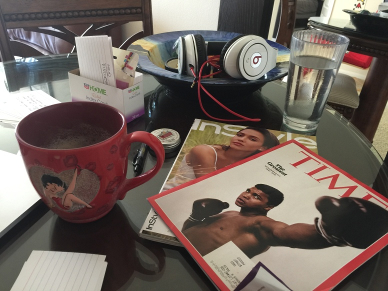 Muhammad Ali, Jessica Alba, Coffee & Music- Shilpa Tripathi