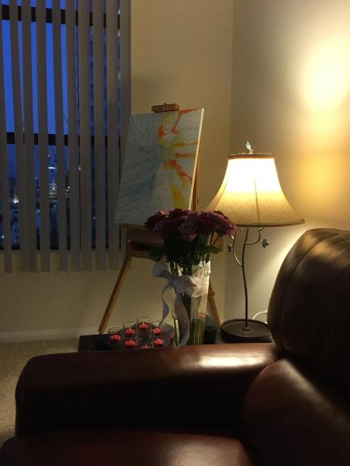 Flowers, Candles & Paint- Shilpa Tripathi